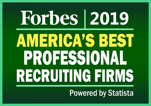 Awarded America's Best Professional Recruiting Firms