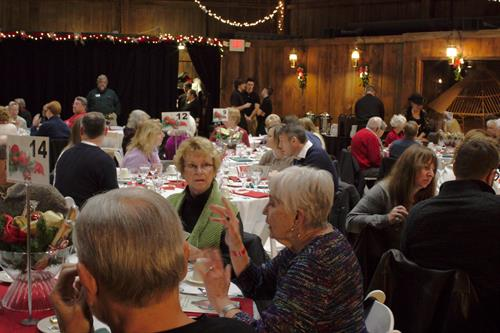Friends, family, food and fun at the Holiday Dinner Fundraiser