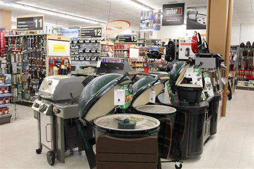Quality Brands- Weber and Big Green Egg