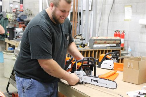 Trust our certified STIHL mechanics to get the repair done right