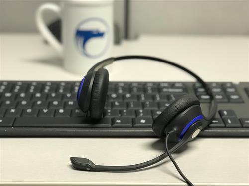 Amy's desk