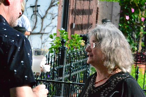 Phyllis Mensh Brostoff and Valerie Stefanich retirement party