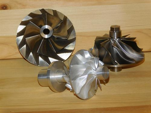 Assorted Impellers of Different Materials