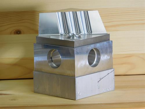 Test Part Created to Test 5-Axis Machining Capabilities