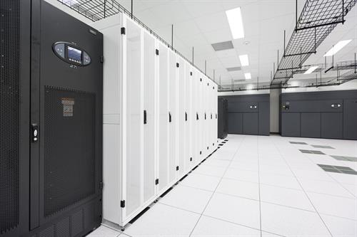 Local data center featuring Liebert products