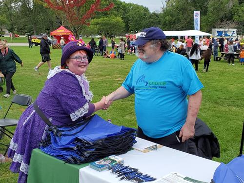 Member Barry Kress at Autism Society Walk