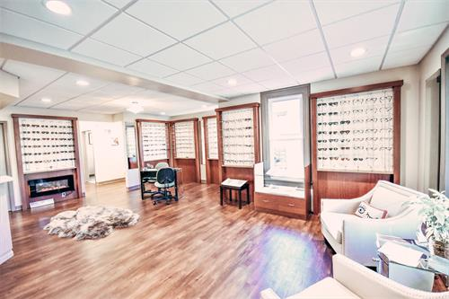 Theia Vision Care provides you with a warm, comfortable atmosphere that feels like home.