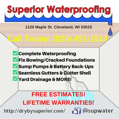 Superior Seamless Inc DBA Superior Waterproofing