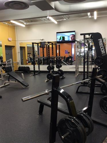 Free weight area