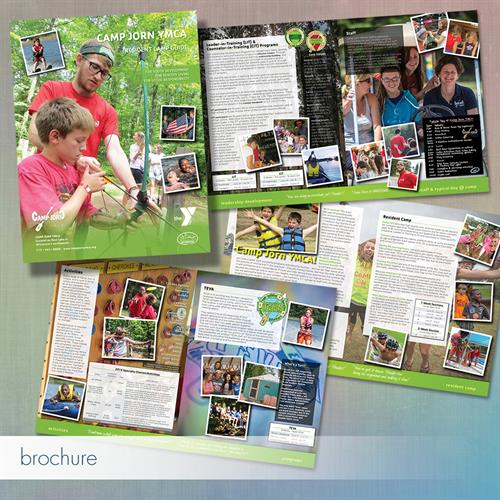 12-page Color Brochure