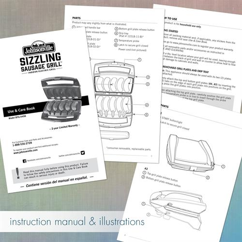 Instruction Manual and Illustrations