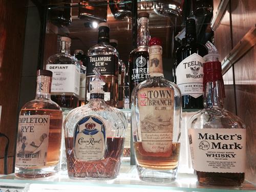 many Distillery offerings ...