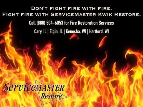 Restoration Services for Fire Damage