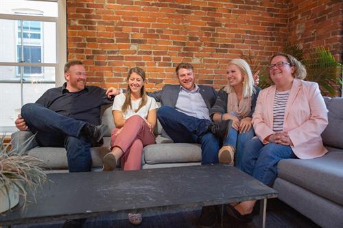 Team photo, Burlington, Vermont early 2019.