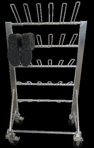 Mobile Boot Rack