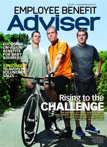 The Forsite Benefits & Wellness Partners Feature on the Cover of Employee Benefit Advisor