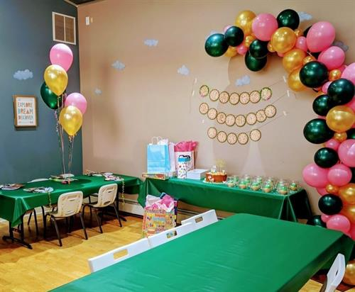 Fun & Festive childs party at Mini Mocha Play Cafe