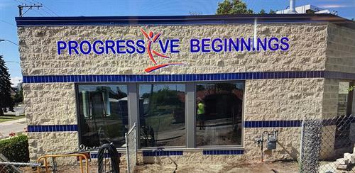 New Signage at 1125 N 13th St