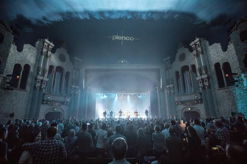 Trampled By Turtles at the Weill Center (September 2019), sponsored by Plenco