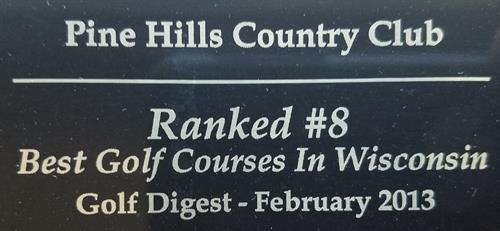Rated in TOP 10 by Golf Digest