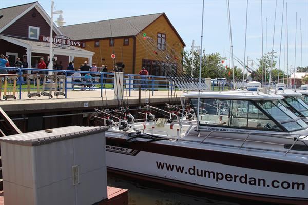 Dumper Dan's Charter Fishing Condominiums Riverfront Store