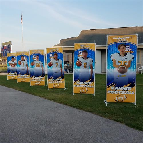 Outdoor Banners & Stand