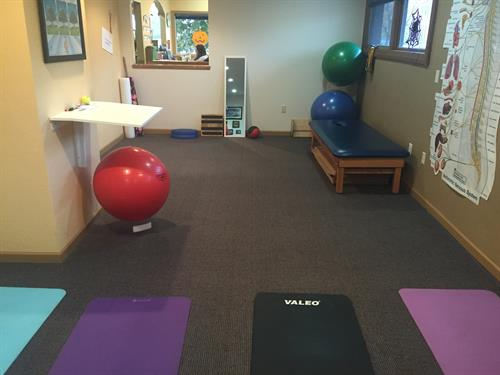 Exercise rehabilitation is a big part of our care!