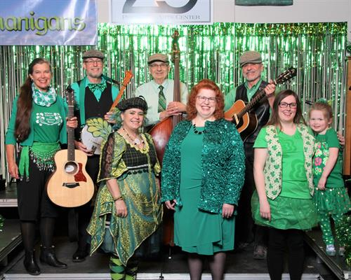 Annual Irish Music Show, Shamrocks and Shenanigans
