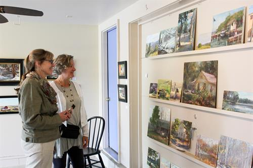 Northern Moraine Spring Art Tour in Greater Sheboygan County featuring over 40 Artists at 20 Venues. Free Admission.