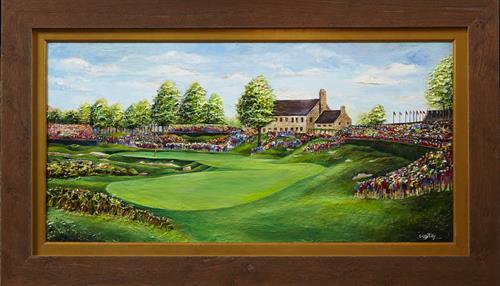 Cassy Tully - 2015 PGA Championship artwork - Whistling Straits - www.cassytully.com