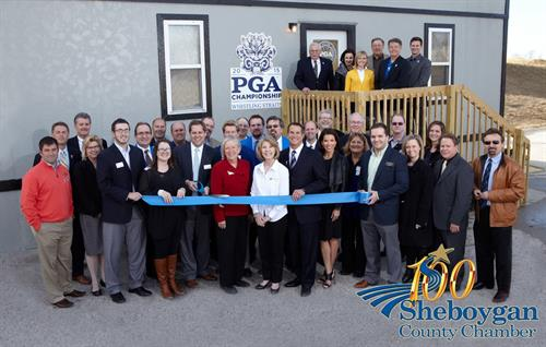Cassy Tully - 2015 PGA Championship Sheboygan County Chamber of Commerce Ribbon Cutting - Whistling Straits - www.cassytully.com