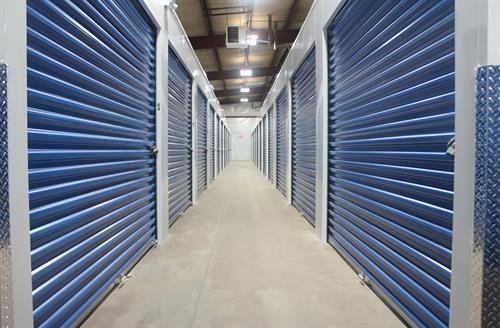 Inside Heated Storage Units