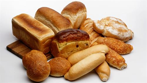 Not just hardrolls! We bake over 50 types of breads and 40 kinds of rolls.