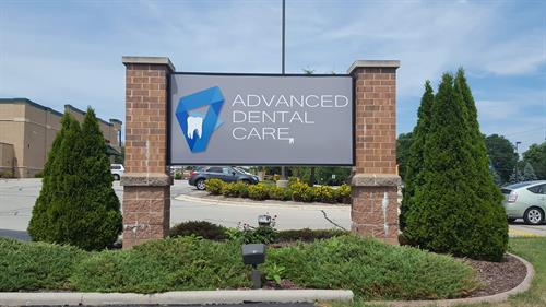 Advanced Dentistry - Cabinet Sign