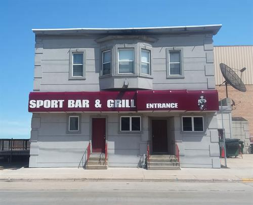 Sport Bar & Grill - Lit Awning