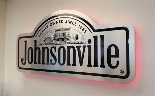 Johnsonville - Back Lit Interior Sign