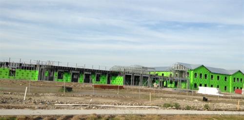 construction progress June 2015