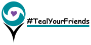 "We need your help in raising awareness!  ""Teal Your Friends"""