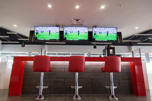 Sports Bar Lobby