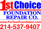 1ST CHOICE FOUNDATION REPAIR CO.