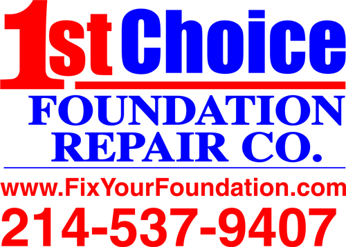 1st Choice Foundation Repair Co. Logo