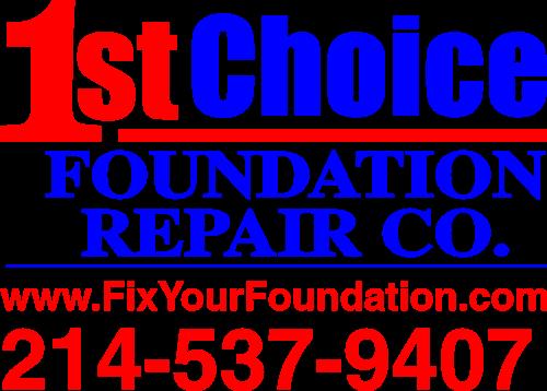 1st Choice Foundation Repair Co. Logo