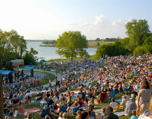 Cool Thursday's Concert Series overlooking White Rock Lake