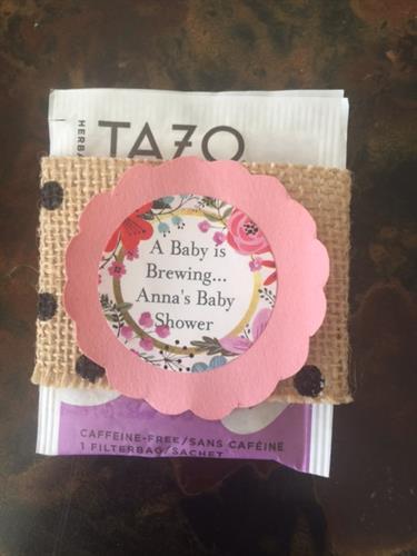 Baby Brewing Tea wrap