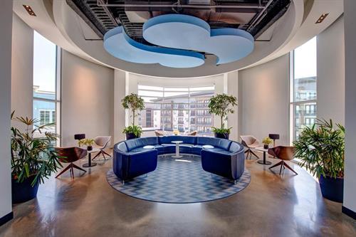 Rotunda meeting area