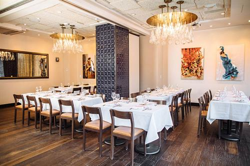 Combine our Sevilla & Barcelona Room and enjoy dining in elegance!
