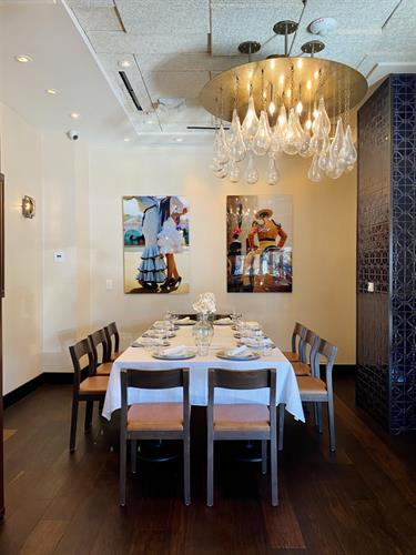 Book our Barcelona Room for an intimate private gathering!