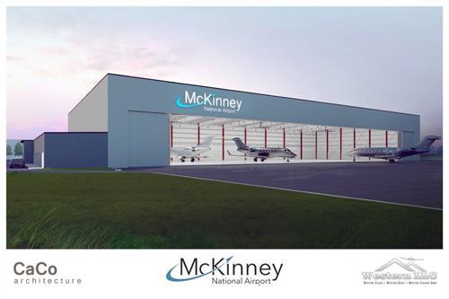 New 40,000 sq. ft.; hangar - Opening January 2019
