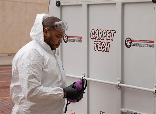 Spray and Fog Disinfecting for Viruses by Carpet Tech