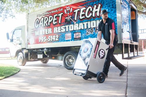 24 Hour Fire and Water Restoration by Carpet Tech